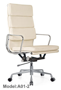 Eames Leather Office/ Hotel Chinese Aluminium Manager Chair (B01-2) pictures & photos