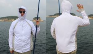 Sun-Proof and Breathable Microfiber Fishing Hoodies pictures & photos