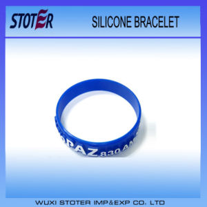 Promotional Item Each Style Bar Code Silicone Wristbands