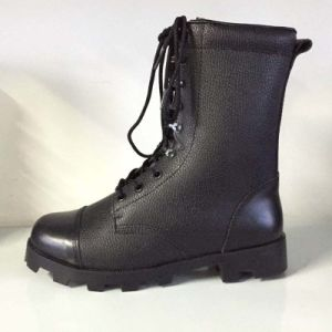 Hot-Sale PU/Leather Fashion Industrial Safety Working Long Boots pictures & photos