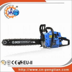 Garden Tool Gasoline Chain Saw 58cc with Oregen Saw Chain pictures & photos