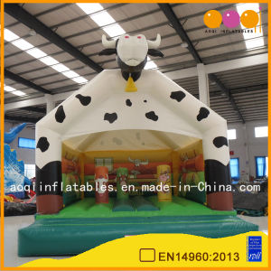 Inflated Toy Cow Model Inflatable Jumping Bouncer Made in China (AQ02201-1) pictures & photos