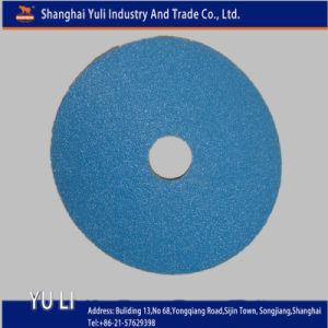 Vulcanized Zirconia Coarse Fiber Sanding Disc (001664)