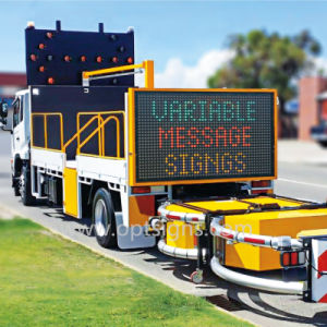 2 Cost Effective Full Color Truck Mounted Variable Message Signs Vms pictures & photos