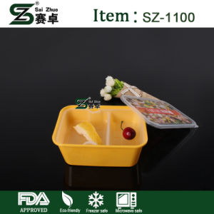 Disposable Food Container with Decorative Texture and Inside-Logo Under Membrane pictures & photos