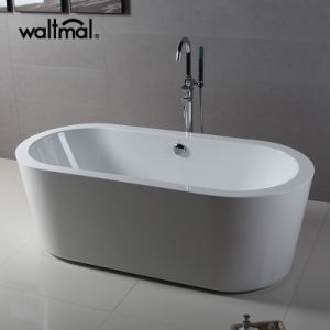 Girlfriend Loved Bright White Acrylic Freestanding Bathtub (WTM-02508) pictures & photos