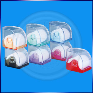 Polygonal Shape of The Transparent Bottom of The Various Colors of Plastic Box pictures & photos