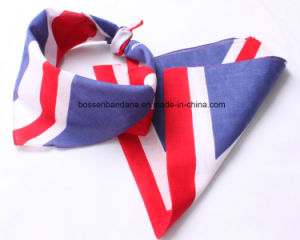 China Factory Produce Customized Design Printed Cotton Headwrap Bandanna pictures & photos