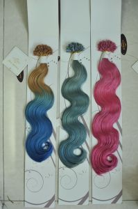 Italy Keratin Pre-Bonded Remy Human Hair Extension pictures & photos