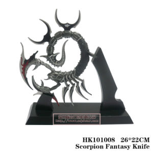 Scorpion Knife Home Adornment Table Decoration 26*22cm pictures & photos
