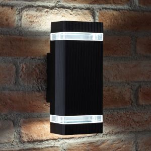 Aluminum Body Toughened Glass LED Outdoor Wall Light pictures & photos
