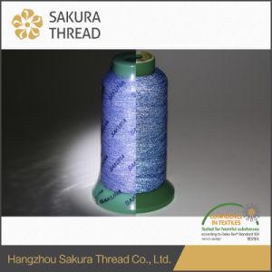Sakura Durable High Visible Reflective Embroidery Thread with Oeko-Tex 100 pictures & photos