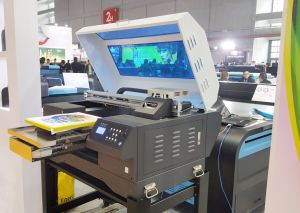 New Design Shirts Printer Price/3D T-Shirt Printing Machine/Cotton T-Shirt DTG Printer pictures & photos