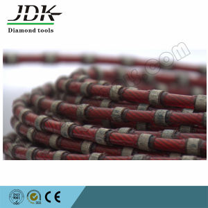 Plastic Fixing Diamond Wire Saw for Granite and Marble Block Squaring pictures & photos