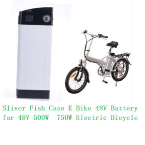 Lithium 48V 10ah Silver Fish Li-ion Battery for E-Bike in China Real Shenzhen Battery Factory pictures & photos