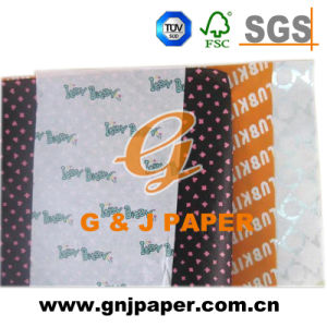 Excellent Quality Printed Tissue Gift Wrapping Paper in Sheets pictures & photos