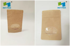 Kraft Paper Stand up Pouch for Dry Food pictures & photos