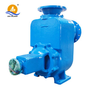 Horizontal Self Priming Skid Mounted Waste Water Pump pictures & photos