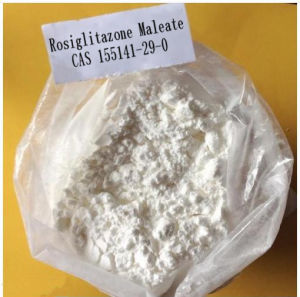 Factory Wholesale 99.2% Pure Rosiglitazone Maleate Powder for Hypoglycemia 155141-29-0 pictures & photos