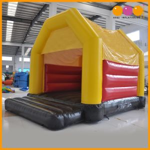Children Game Yollow Red Blue Inflatable Bouncer (AQ02396) pictures & photos