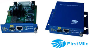 Ge/Fe Media Converter Used in Pairs or Stand-Alone pictures & photos