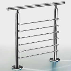 Floor Mount Stainless Steel Rod Railing in Stair Parts pictures & photos
