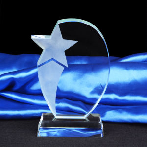 Big Thumb Crystal Trophy Award with Base pictures & photos