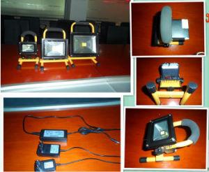 10W 673 Lm COB LED Rechargeable Flood Light pictures & photos