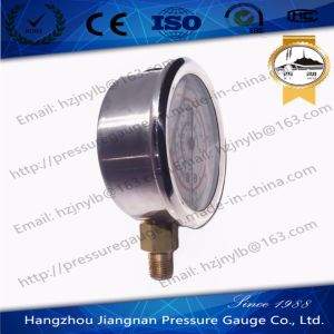 60mm 2.5′′ Stainless Steel Oil Filled Refrigeration Pressure Gauge R22/R404A/R407c/R134A pictures & photos