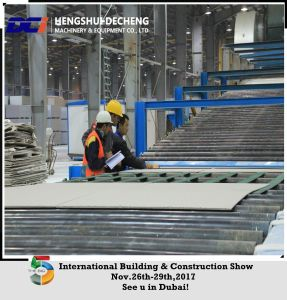 High Performance Gypsum Plasterboard Production Line pictures & photos