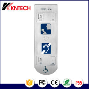 Help Phone Induction Loop Telephone Knzd-17 Elevator Phone Rugged Telephone pictures & photos