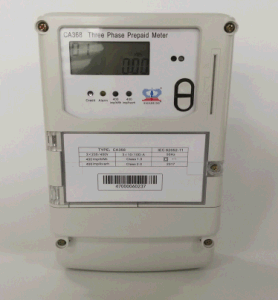 Three Phase Four Wires IC Card Prepayment Electric Meter Dtsy150 pictures & photos