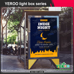 Double Sided Street Lamp Post Light Box for Advertisement pictures & photos