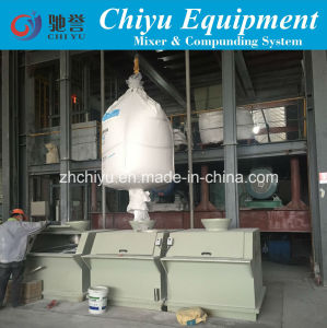 Feeding Machine for PVC Window and Door Profile Extusion Line pictures & photos