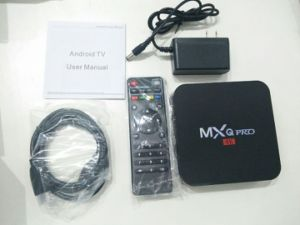 Live IPTV M3u TV Android 5.1 Mxq PRO Kodi Preloaded, 1+8GB Android TV Box pictures & photos