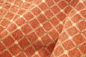 Chenille Jacquard Geometric Pattern Fabric for Sofa pictures & photos