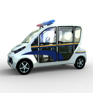 4 Seaters Low Speed Electric Patrol Cart for Sale pictures & photos