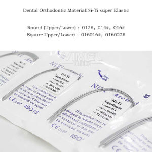 Orthodontic Dental Supper Elastic Niti Arch Wire Round Square pictures & photos
