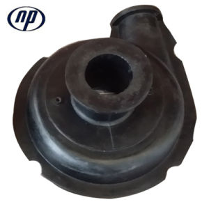 2/1.5 B-Ahr Rubber Liner Slurry Pump Cover Plate Liner (B15017) pictures & photos