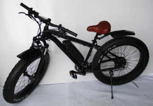 Power Ebike/26inch Electric Bike Al Alloy 1000W Brushless Motor Fat Electric Bike for Promotion pictures & photos