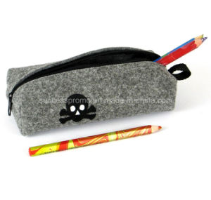 Fashion Felt Pencil Bag, Customized Logo Is Accepted pictures & photos
