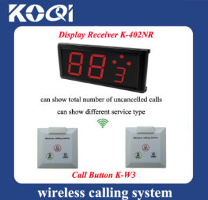 CE Approved Restaurant Wireless Table Bell System pictures & photos