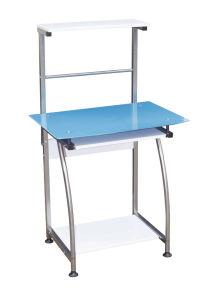 Blue Glass Computer Desk Ka-750