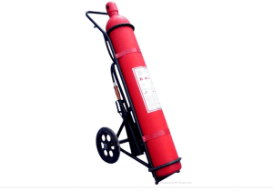 CO2 (Carbon Dioxide) Double Trolley Fire Extinguisher pictures & photos