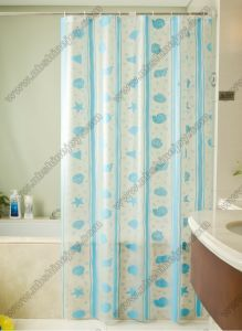 Marine Animal Printed Shower Curtain pictures & photos