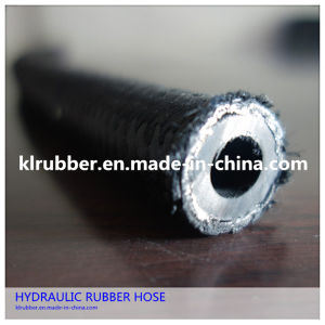 High Pressure Steel Wire Braided Hydraulic Rubber Hose pictures & photos