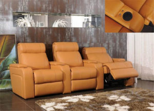 Home Cinema Sofa Set with Massage pictures & photos
