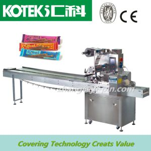 High Speed Horizontal Protein Bars Packing Machine pictures & photos