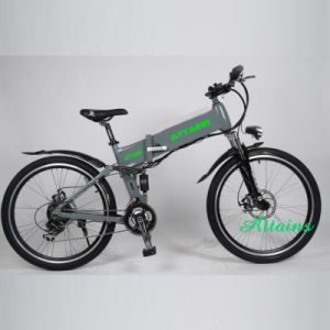 26′′ Inch City Electric Folding Bike with Lion Battery pictures & photos