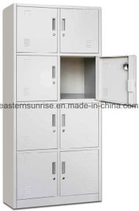 Eight Door Cheap Metal Steel Iron Locker/Wardrobe/Storage Cabinet pictures & photos